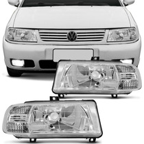 Farol Polo Classic 2001 2002 Serve 97 98 99 2000 Com Pisca