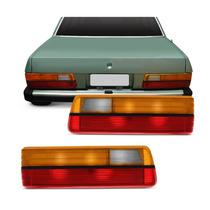 Lanterna Traseira Acrilica Esquerda Del Rey 85/92 - Cofran