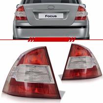 Lanterna Focus Sedan 09 10 11 12 13 Bicolor Modelo Esportivo