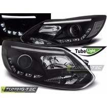 Tuning Import Par Farol Projector Drl Led Ford Focus 14/15