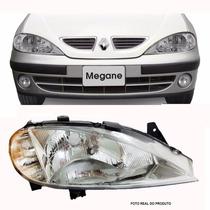 Farol Renault Megane 2000 Á 2005 - Lado Direito - Depo
