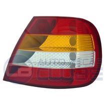 Lanterna Tras Fiat Siena 01 A 03 Carcaça Vermelha Ld Arteb