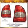 Lanterna Traseira Corsa Sedan 2000 2001 2002 2003 Par Ld Le