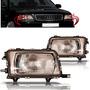 Par Farol Audi A80 Ano 1993 1994 1995 Foco Simples