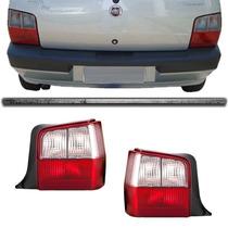 Lanterna Traseira Uno 2004 2005 2006 2007 08 A 2010 Cristal