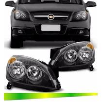 Farol Vectra Sedan Máscara Negra 2006 2007 2008 2009 Novo