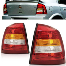Lanterna Astra Hatch 98 99 00 01 02 Tricolor Cristal Esquerd