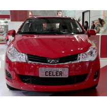 Farol Chery Celer - Novo - Esquerdo-motorista