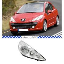 Farol Peugeot 207 2007 2008 2009 2010 2011 2012 Novo Direito