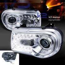 Tuning Imports Par D Farol Projector Com Drl R8 Chrysler 300