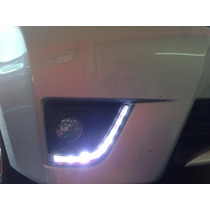 Kit Drl Corolla 2015/2016 Com Moldura Do Farol Milha/neblina