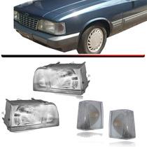 2 Farol Opala Caravan + 2 Lanterna Pisca Cristal 88 89 A 92