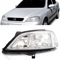 Farol Chevrolet Astra 1998 1999 2000 2001 2002 Cromado Le