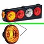 Lanterna Acrilica Da Caixa Randon Nova P Caminhão Amarela