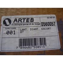 Ford Escort - Lanterna Dianteira - Cristal Original Le