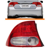 Lanterna New Civic 07 08 09 10 11 Canto Bicolor Original Le