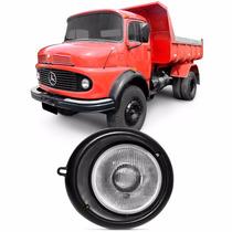 Farol Caminhão Mercedes Mb 1113 70 A 83 Com Aro Motorista