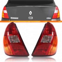 Par Lanterna Traseira Clio Sedan 2000 2001 2002 2003 2004