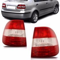 Lanterna Tras Polo Sedan Canto 2003 2004 2005 2006 Bicolor