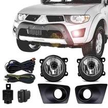 Kit Farol Milha / Neblina Mitsubishi L200 Triton Até 2013