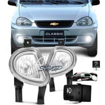Kit Milha/farol Auxiliar Gm Corsa Wagon Hatch 00/01 Classic