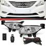 Kit Farol Milha Auxiliar Hyundai Sonata 2010 2011 2012