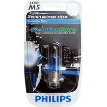 Lâmpada Philips Blue Vision 4000k 35w Biz Dream Broz 150cc