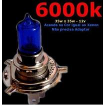 Lâmpada Efeito Xenon Azul H4 35/35w Titan 150 Factor Cg Fan
