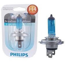 Lampada Do Farol Philips H4 -35w35 -crystal Vision