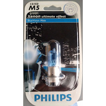 Lampada Farol Honda Biz Philips Cool Blue M5 35/35w