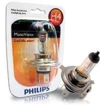 Lâmpada Farol Philips Motovision 35/35w Titan Fan Ybr H4