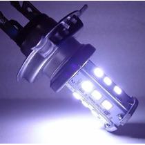 Lâmpada De Led Super Branca H4 Cb300 Twister Fazer Falcon