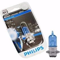 Lâmpada M5 Farol Yamaha Neo Philips Blue Vision 4000k 35/35w