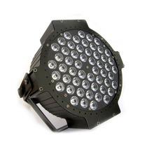 Canhão Par 64 Slim 54 Leds Rgbw 3w Sensor Ritmo Dmx Bivolt