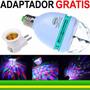 Lâmpada De Led Colorido Rotativa Giratória Bola Maluca Co02