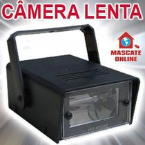 Mini Strobo. Efeito Iluminação Câmera Lenta. P/ Festas Djs