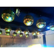 Globo Espelhado 60 Cm - Dourado