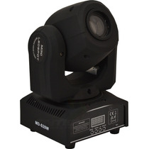 Mini Beam Moving Head Led 12w Cree Rgbw Com Desenhos Nfe