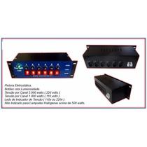 Mesa Chaveadora 6 Canais Led Voltagem 110/220