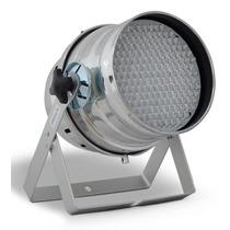 Refletor Canhão Led Par 64 177 Leds Prata Rgb Com Dmx Ilumin
