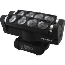 Moving Head Spider Beam 8x12w Rgbw Led Cree Quadriled 4in1