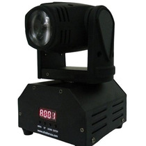 Mini Beam Moving Head Led 12w Cree Rgbw Dmx, Strobo, Prof
