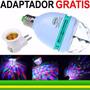 Lâmpada De Led Colorido Rotativo Giratório Bola Maluca Co02