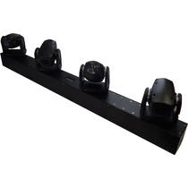 Ribalta Moving Beam C/ Movimento Tilt 4 Leds Rgbw Quadri-led