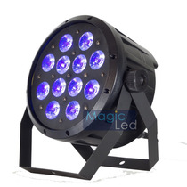 Refletor Led Par 64 Rgbw+uv(luz Negra) 12 Leds 15w Pentaled