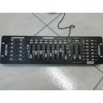 Mesa Controladora Dmx 512 - 192 Canais - Nova
