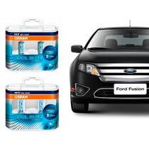 Kit Lâmpadas Osram Cool Blue H11 + H7 + H11 Ford Fusion 2011