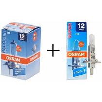 Lâmpadas 1 Par H7 + 2 Pares H1 Osram Original 12v Halogena