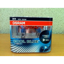 Lampada Osram Cool Blue Intense H1 Farol 4200k Super Branca