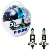 Kit Lâmpada Philips X-treme Vision H1 55w 12v (par)